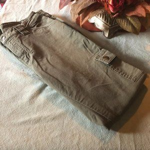 St John's Bay Green Cargo Pants Side 8